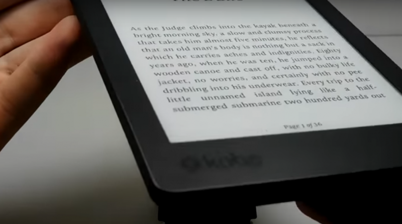 Test of The Kobo Aura Edition 2 in Video