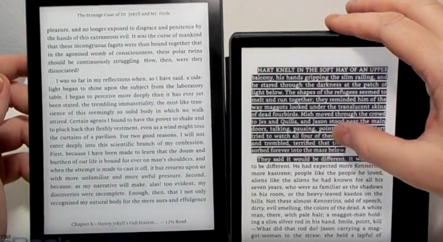 Kindle Oasis 2 vs Kobo Aura One Comparison Review