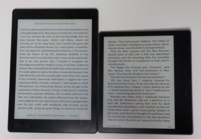 Comparative: Kindle Oasis 2017 vs Kobo Aura One