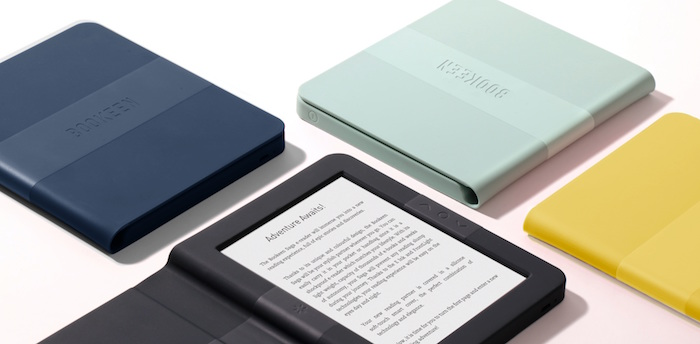 Best ereader e bookreadercomparaison my favorite of these last months for this ereader bookeen saga to the radical design which offers the ereader into a case in book form fandeluxe Image collections
